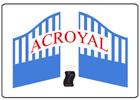 Acroyal - Portail aluminium