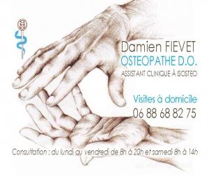 Damien FIEVET - Ostéopathe à Charavines